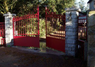 installation de portail classique sur St just saint Rambert