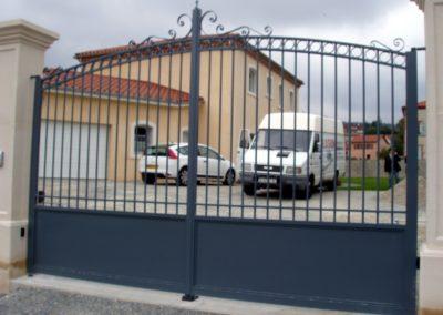 portail classique vers Andrézieux Bouthéon